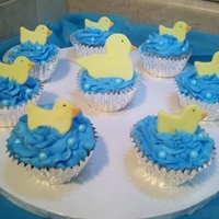 Duckies In The Water Cupcakes