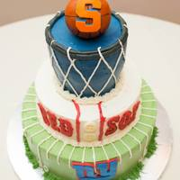 Syracuse, Red Sox, Giants Grooms Cake