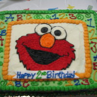 Elmo Birthday Cake I got the idea for this elmo birthday cake from others here on cake central. Elmo 2nd birthday cake