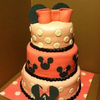 Minnie Mouse Themed 1St Birthday Minnie Mouse themed 1st birthday