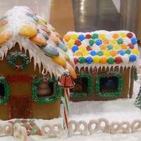 Gingerbread Bakery And Toy Store For contest at work.
