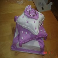 The Ultimate Show Of Love Diamond's Are Forever Made with fondant.