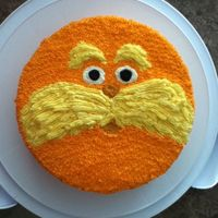The Lorax Made With Buttercream The lorax. Made with buttercream