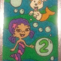 Bubble Guppies Cake Made With Buttercream Bubble guppies cake made with buttercream