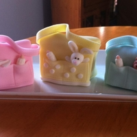 Mini Diaper Bag Cakes