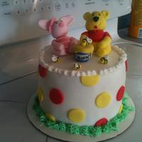 Winne The Pooh All made out of fondant