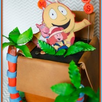 Maggie & The Ferocious Beast Hamilton's box; edges are gumpaste. Image is printout on gumpaste. Cake is WASC with SMBC. TFL! :-D