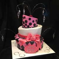 Topsy Turvy Fun! This was a fun one to make for a birthday girl in her 40s!
