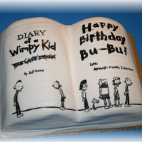 Diary Of A Wimpy Kid Made for my baby boy! VERY last minute since he couldn't make up his mind of what theme he wanted. It's not the best, but I...