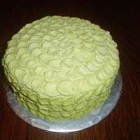 Practice Petal Cake In Yellow i have seen this done by several people on cc so I am not sure who I should thank for the design so thanks to all. When I saw them, I...