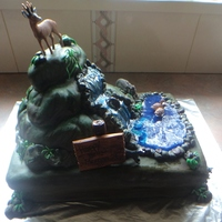 Hunter Cake   Birthday cake for a 21 year old who is into his hunting.