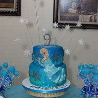 Frozen Cake All Edible *frozen cake, all edible