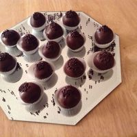Death By Chocolate triple chocolate cake balls