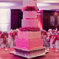 Ombre Wedding Cake Hope You Like It   Ombre wedding cake. Hope you like it :)