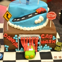 Car Wash Cake I have to say this was a challenge because there are no good car wash ideas out there. Customer wanted a cake for serious carwash fan. I...