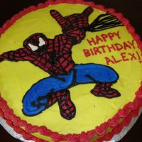 Spiderman Cake My first attempt at a FBCT