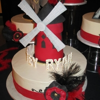 Moulin Rouge Wedding Cake
