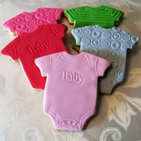 Onesie Sugar Cookies Onesie Sugar Cookies