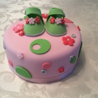 Green Baby Bootie Baby Shower Cake Green Baby Bootie Baby Shower Cake