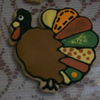 Patchwork Turkey   Thank you Mac for the cookie class you held.