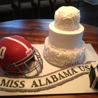 Engagement Cake For Katherine Webb And Aj Mccarron   Engagement cake for Katherine Webb and AJ McCarron.