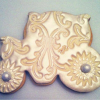Carriage Cookie Made For A Bridal Shower Carriage cookie made for a bridal shower