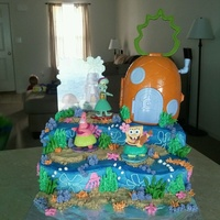 Spongebob Under The Sea All Buttercream Spongebob under the sea all buttercream