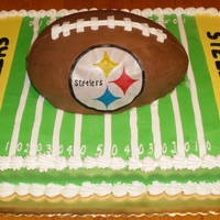 Steelers Fan Grooms cake