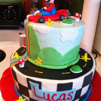 Mario Kart Birthday For my son's 7th birthday.