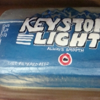 Keystone Light Cake Keystone Light cake