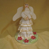 Christmas Angel Cake   Quick stacked cake made on Christmas Eve at short notice