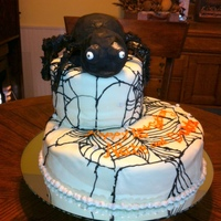 Totally Edible Giant Spider Cake Totally edible Giant Spider cake