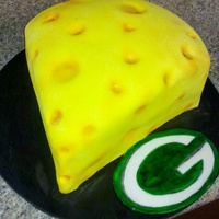 Green Bay Packers Grooms Cake