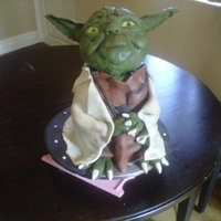 My Attempt At Yoda For My 7 Year Old Son Head Is Made With Rkt my attempt at YODA for my 7 year old son. Head is made with RKT.