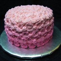 Pink Swirls First layer is white cake mix, and a drop of pink food coloring was added to each subsequent layer to make the light to dark look. Used...