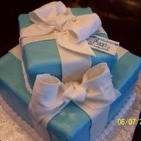 Gift Boxes Wedding Shower   mmf with gumpaste bows