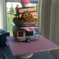 State Fair Winner!!! I won two blue ribbons for this cake at the Iowa State Fair.