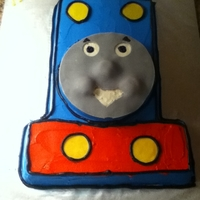 Thomas The Train Thank you to CC member mocin for their inspiration on this cake.