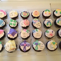 Baby Shower Cupcakes Themed With Different Songs Sayings Poems For Children Baby shower cupcakes themed with different songs, sayings, poems for children