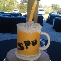 Beer Mug Groom Cake