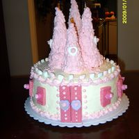 Castle Cake   All Buttercream