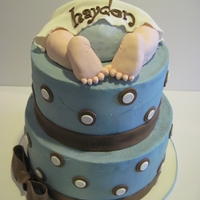 Baby Bottom Another baby bottom cake