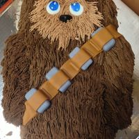 "Chewbacca Sometimes, when I am piping, I think, ""Really, how much spare time do I have!"" And then I think, ""NOT ENOUGH!"""