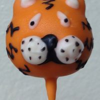 Tiger Cake Pops For Coworker Whos Moving Because Her Husband Got A Job At Lsu Tiger Cake Pops for Coworker who's moving because her husband got a job at LSU.