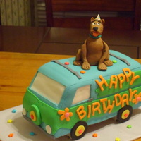 3D Scooby Doo Birthday Cake