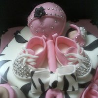 Bling Bling Baby Shower Cake.