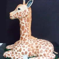 "Giraffe The head and neck are Styrofoam anchored into the board. The body and legs were carved from a triple stack of 11"" x 15"" sheet..."