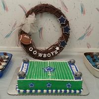 Dallas Cowboys Cake *