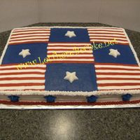 Red White And Blue this was for a company to celebrate July birthdays. All bc and the stars are white chocolate