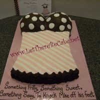 Lingerie a fun bridal lingerie shower cake